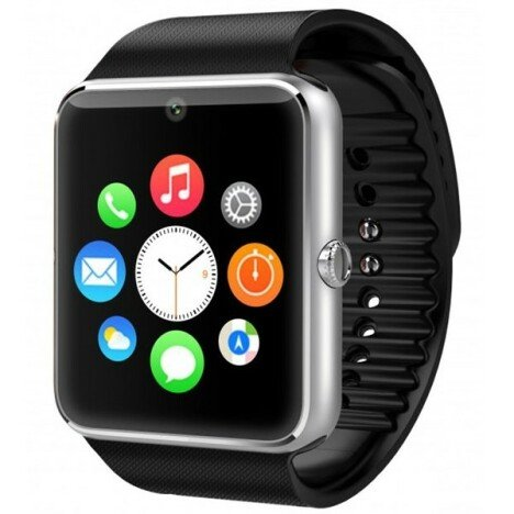 Resigilat! Ceas Smartwatch cu Telefon iUni GT08s Plus, Camera 1.3 Mp, Apelare BT, LCD Capacitiv 1.54